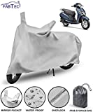 FABTEC Waterproof Taffeta Polyester Scooty Cover for Honda Activa 125-GJ with Air Freshener Combo