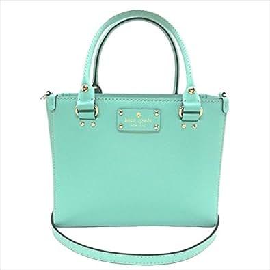 Kate Spade Wellesley Small Quinn Crossbody Tote Handbag (Mint Green)