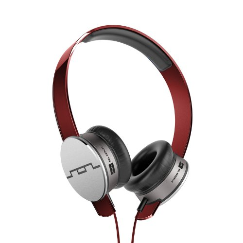 SOL REPUBLIC 1241-03 Tracks HD On-Ear Headphones - Red