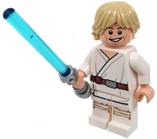 LEGO Star Wars Minifigure - Luke Skywalker with Lightsaber Tatooine (2014) - Lego Luke Skywalker