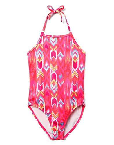 Gymboree Little Girls 1-Piece Tropical Print Swimsuit