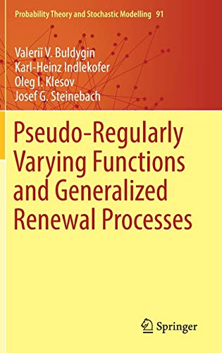 Pseudo-Regularly Varying Functions and Generalized Renewal Processes
