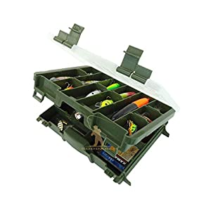 Roddarch Twin Tray Fishing Tackle...