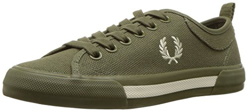 Horton B3190102 Olive Burnt Canvas Fred Blk Perry Turnschuhe g4PAHA