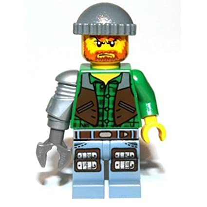 Lego Monster Fighters Jack McHammer Minifigure