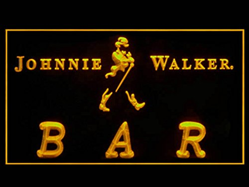 Price comparison product image Johnnie Walker Whisky BAR Drink Led Light Sign