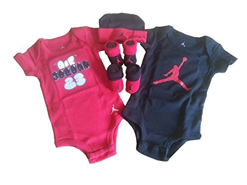 Nike Jordan Infants Baby Layette Set with Cell Phone Anti-dust Plug