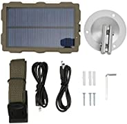 Hunting Camera Solar Panel,Infrared Camera Solar Charger Constant Current Voltage Stabilization Power Supply P