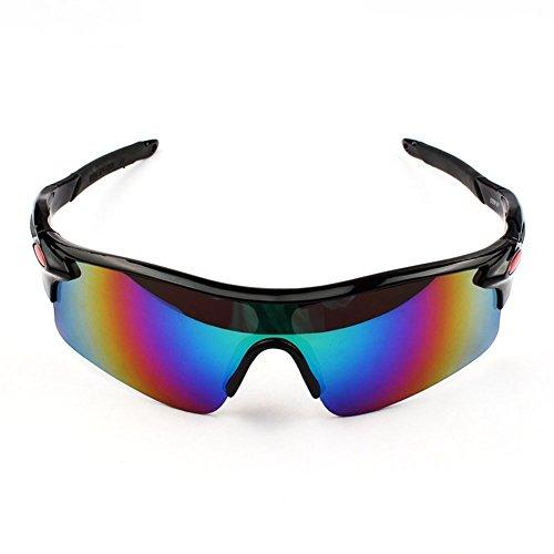 bicicleta Montar 3 polarizadas de para gafas medio Gafas al sol Gafas borde aire sol correr pesca de LAAT con libre Gafas de deportivas Acampar de sol hombre Deportes de gxS0Awnwf