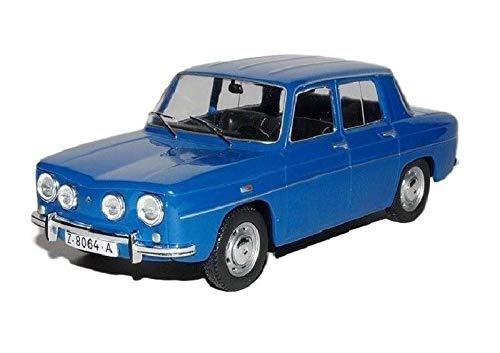 Renault Coche Escala 1:24 Metal 8 TS 1968 Azul