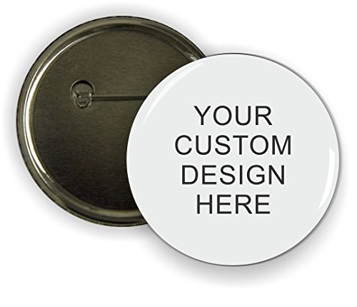 Personalize your own Rikki KnightTM Design 2.25 inch Pinback Button Badge - with Your name, picture, message or text! (set of 10)