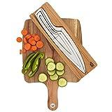 Kitchen knife set, Mr Moos 4 piece nested knife set