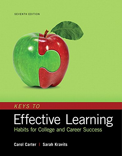 Keys to Effective Learning: Habits for College and Career Success Plus MyLab Student Success with Pearson eText  -- Access Card Package (7th Edition)