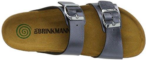 Grau 701100 Damen Pantoletten Brinkmann Grau Dr Hw4PqFWS0