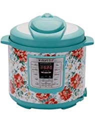 Instant Pot Pioneer Woman LUX60 Vintage Floral 6 Qt 6-in-1 Multi-Use Programmable Pressure Cooker, Slow Cooker, Rice Cooker, Saute, Steamer, and Warmer