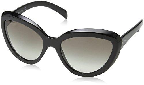 Authentic Prada Sunglasses (Prada Women's 0PR 08RS Black/Grey Gradient)