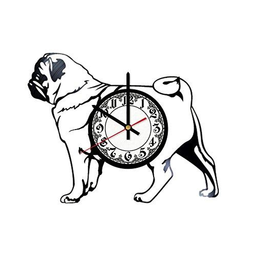 (In Na Bulldog Decor Vinyl Clock, Vinyl Wall Clock, Vinyl Record Clock, Original Gift, Home Decor, Wall Art)