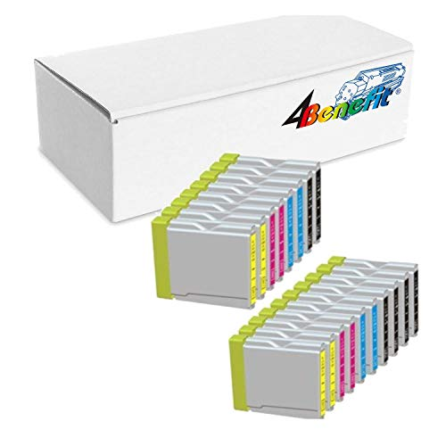 Officemax Brother Ink - 18 Pack. Compatible Cartridges For Brother LC-51. Includes Cartridges for 6 ea LC-51 Black + 4ea LC-51 Cyan + 4ea LC-51 Magenta + 4ea LC-51 Yellow.