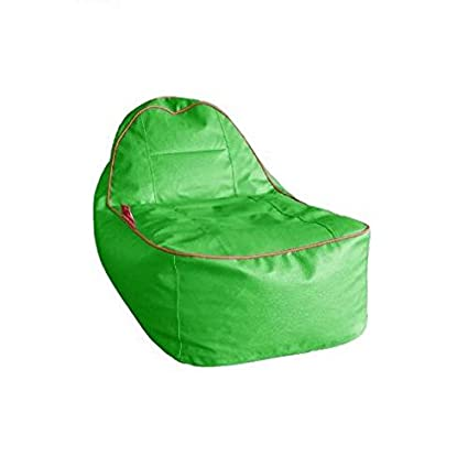 Peachy Sattva Rester Bean Bag Without Beans Neon Green Amazon In Machost Co Dining Chair Design Ideas Machostcouk
