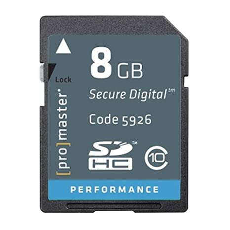 Amazon.com: Pro Performance 8 GB, SD/HC, Class 10 – Tarjeta ...