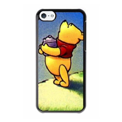 Coque,Coque iphone 5C Case Coque, Winnie The Pooh Meme Cover For Coque iphone 5C Cell Phone Case Cover Noir