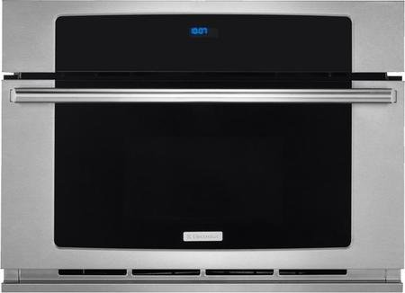 Electrolux EW30SO60QS 30'' Built-In Convection Microwave Oven with 1.5 cu. ft. Oven Capacity Drop-Down Door Wave-Touch Controls Convection Cooking and Multi-Stage Cooking in Stainless by Electrolux