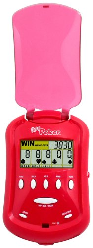 Radica Fliptop Poker Hand Held Electronic Game by Mattel