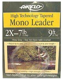 Airflo Tapered Mono引出線High Tech 9 ' – 6.4lb – 4 x 3パック   B004R50HMA