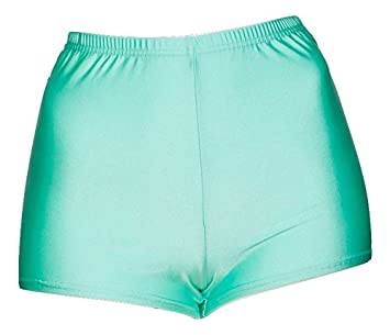 b2c2f458bf Ladies All Colours Shiny Lycra Dance Fitness Sports Gym Hot Pants Shorts  KHPN-5 Katz