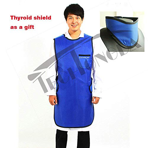 Techtongda 0.35mmPb No-Lead Radiation X-Ray Protection Apron Basic Light Weight L Size