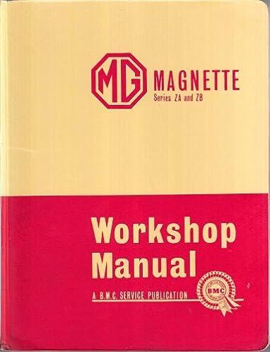 mg magnette workshop manual issue 5 series za and zb amazon co rh amazon co uk mg magnette workshop manual pdf MG Magnette Emblems