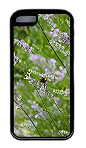 iPhone 5c Case Unique Cool iPhone Cases Personalized Design Lavender And Bee Cases Kimberly Kurzendoerfer