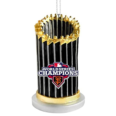 cb08d353d Amazon.com   San Francisco Giants 2012 World Series Champions Trophy  Ornament by FOREVER   Sports Fan Hanging Ornaments   Sports   Outdoors