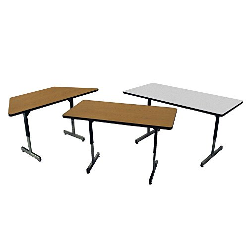Allied Activity Table - Adjustable T-Leg Activity Table, 36 x 72