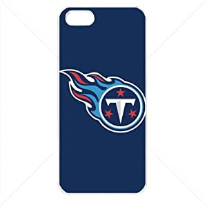NFL American football Tennessee Titans Fans Case For HTC One M7 Cover PC Soft (White)