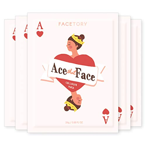 🥇 FaceTory Ace That Face Collagen Sheet Mask – Nourishing