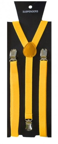 Accolades pour Femmes Hommes Y-forme, couleur: jaune SoulCats