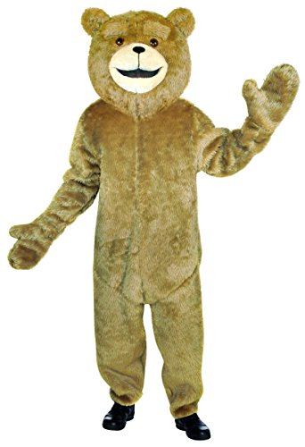 Rasta Imposta Ted Jumpsuit, Tan, (Ted Costume For Halloween)