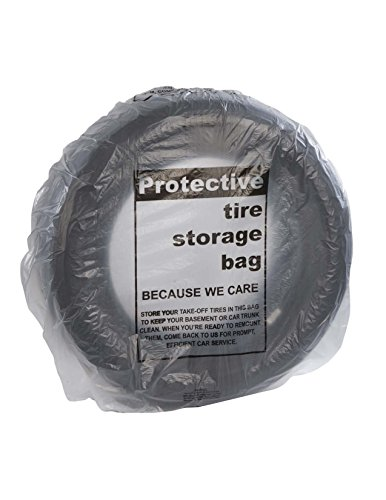 Automotive Interior Protection 41-110 Tire-Mate Roll of 100 SUV Sized Heavy Duty Tire Storage Bag (Suv Storage Bag)