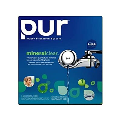PUR 3 Stage Horizontal Faucet Mount with Filter