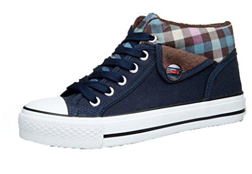 HD Women's Fashionable Suede String Flat Heels Sneakers(39 M EU/8 B(M) US, - Mandolin A8