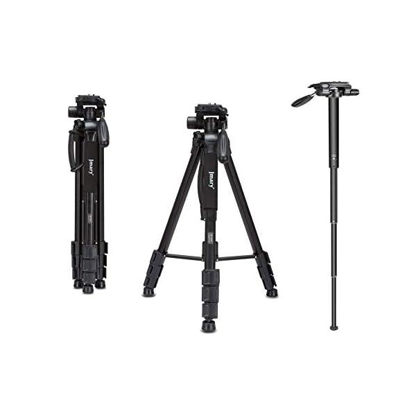 RetinaPix Jmary KP-2264 Professional Aluminium Tripod Monopod for All DSLR Cameras