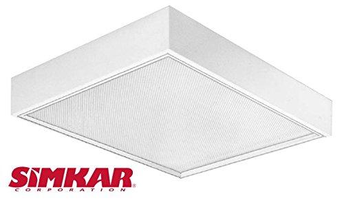Simkar SYLP 2x2 T8 or T5 Fluorescent Low Profile Surface Light ...
