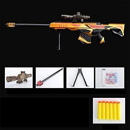 Juguete de pistola de agua infrarroja para niños, pistola de rifle de francotirador de plástico suave Paintball CS, pistola de juguete para juegos al aire libre, regalos de armas
