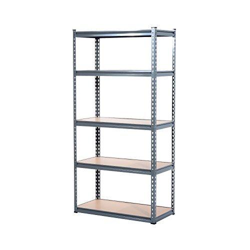 HomCom 5 Shelf Storage Shelving Rack product image