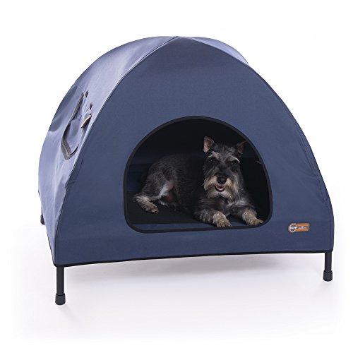 K&H Pet Products Original Pet Cot House Medium Navy Blue - I