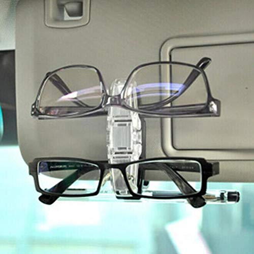 VT BigHome Car Styling Car Accessories Sun Visor Clip Holder Dual Sunglasses Eyeglass Reading Glasses Focus Passat Universal Cars