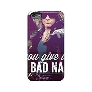 Scratch Protection Hard Phone Covers For Iphone 6plus With Support Your Personal Customized Trendy Bon Jovi Skin SherriFakhry