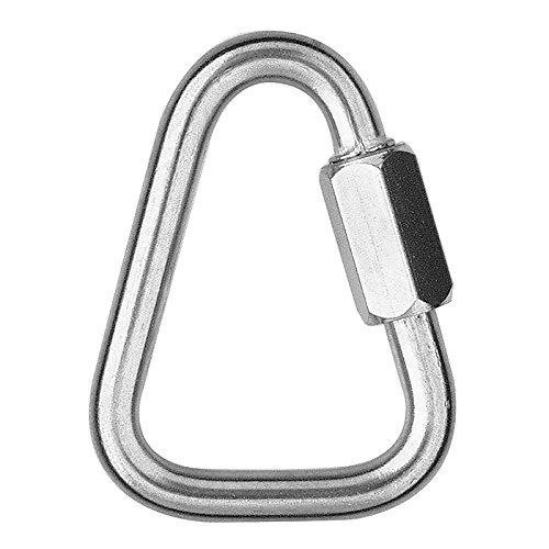 DuraBrite 304 Stainless Steel Delta Triangle Quick Links 1/4'' (Pack of 10)