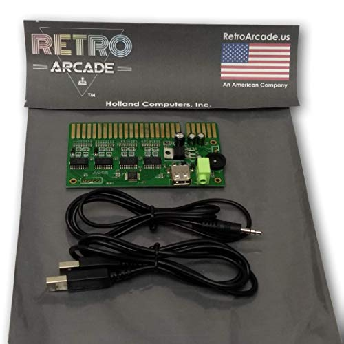 RetroArcade.us ra-USB-to-Jamma-2 USB to Jamma Converter Board, emulates Gamepad, Interface to 2 USB pc Joystick Jamma mame